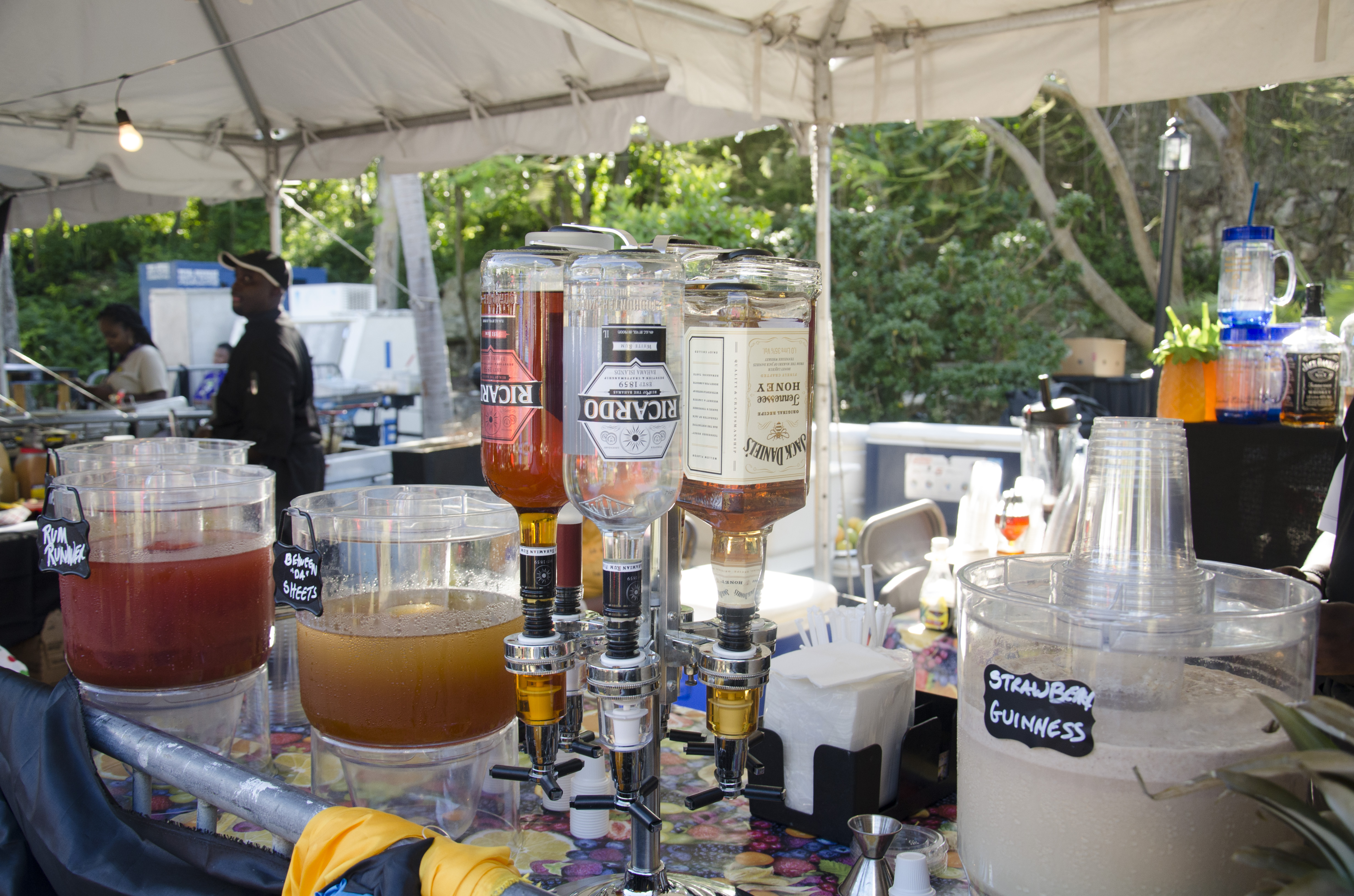 Alcohol at International Cultural Festival