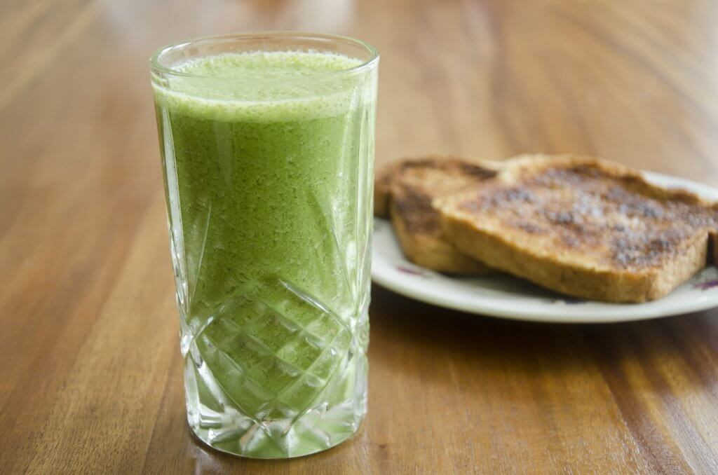 Ginger Tahini Green Smoothie