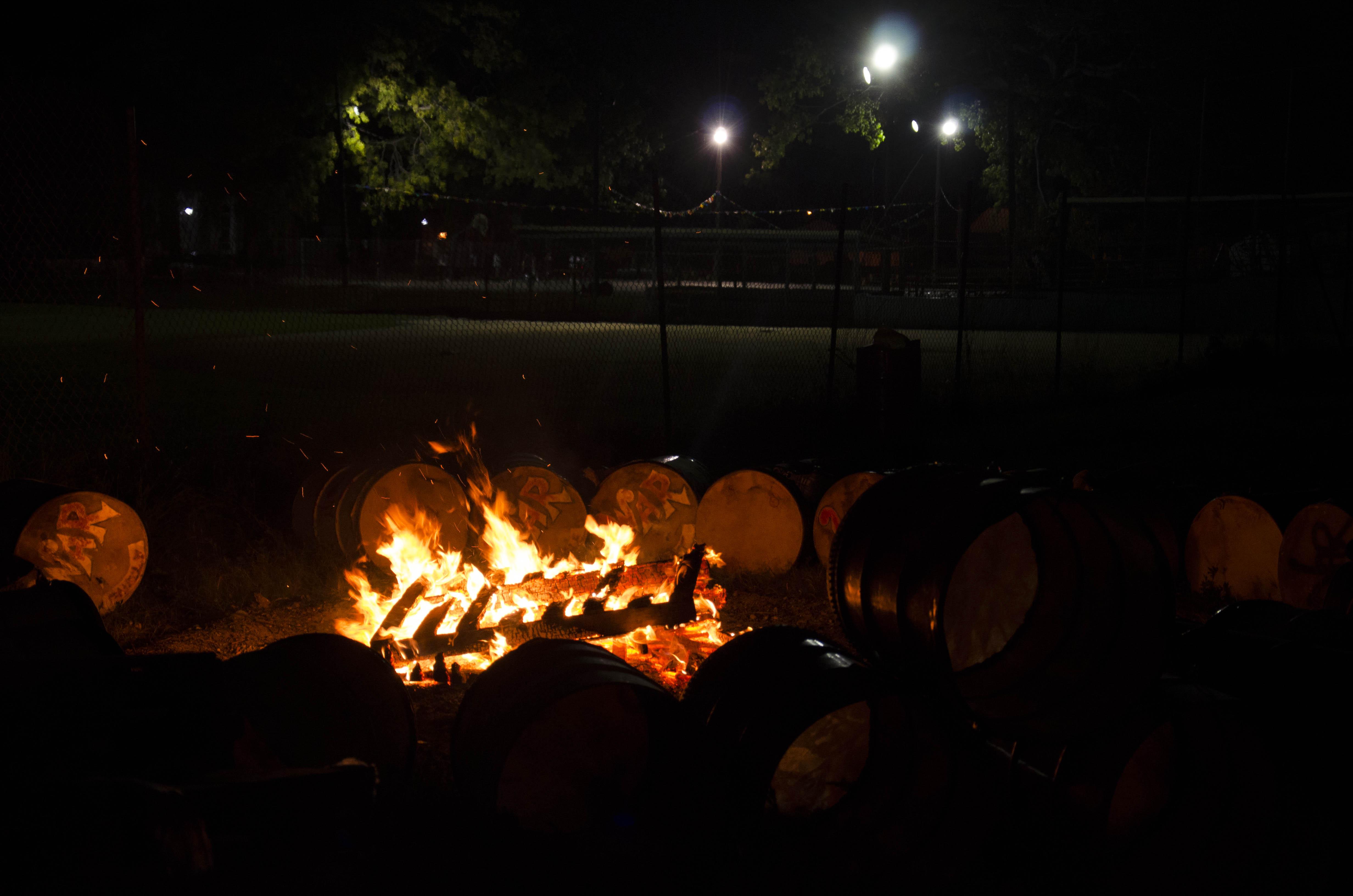One Family Junkanoo practice bonfire 2