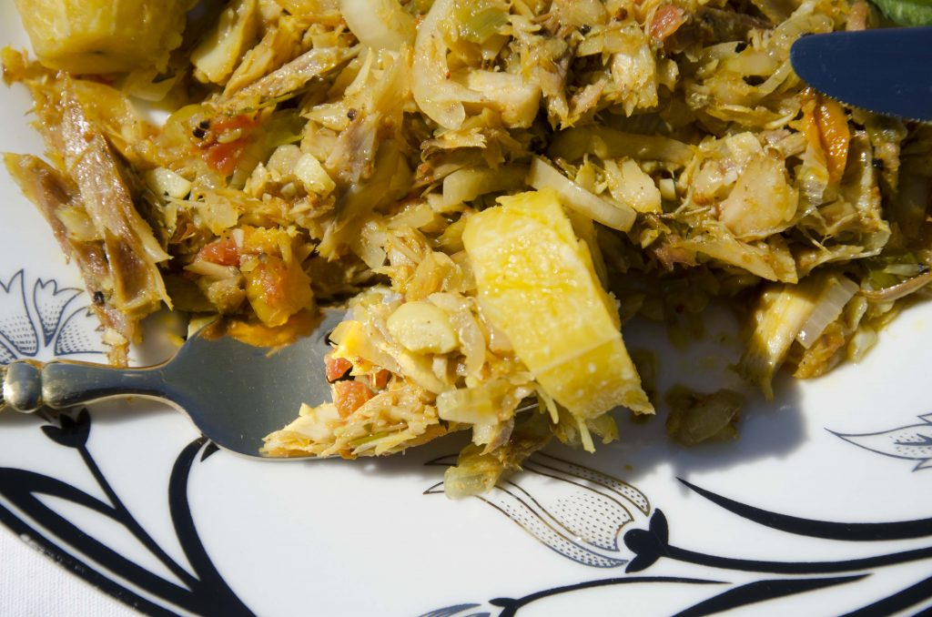 Brother Tom's Saltfish